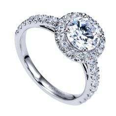 Gabriel & Co rings available at Michael Herr Diamonds and Fine Jewelry