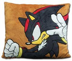 Sonic the Hedgehog Pillow: Shadow Velvet