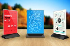 Check out Table Tent Mock-up Template Vol.1 by itembridge creative store on Creative Market