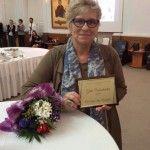 Best volunteer's award for Sonja van Kessel