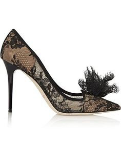 23 Wild And Wonderful Statement Heels To Step Up Your Fall Shoe Game Lace  Pumps dbb980c6f84