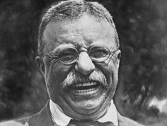 The man responsible for the name 'Teddy' Bear! President Theodore Roosevelt!