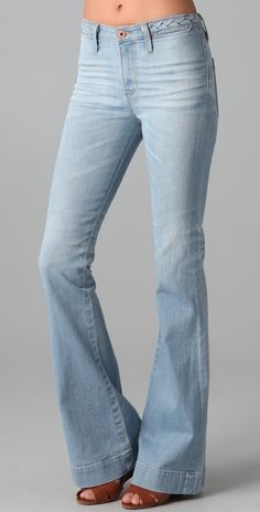 Ag Adriano Goldschmied Lula Flare Jeans thestylecure.com