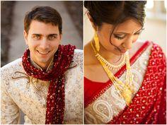 Outdoor Fusion Indian Wedding by Choco Studio Photography on IndianWeddingSite.com