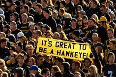 Here at the University of Iowa it's always a great day to be a Hawkeye! #College #Hawkeye