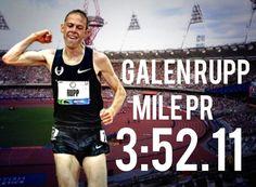 Galen Rupp London DL Mile PR 2013