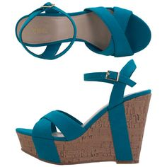 Next paycheck these might be all mine. One of my favorite colors <3 and how I love wedges