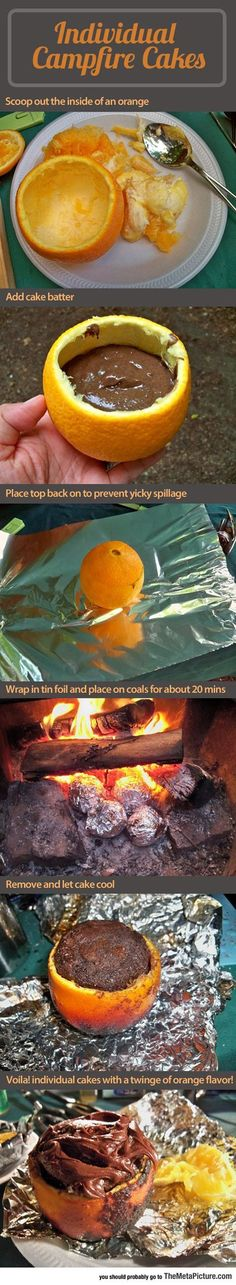 Oranges, Fire And Pure Deliciousness - The Meta Picture