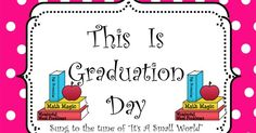 Kindergarten graduation day song words tune of its a small world print a copy of our cute song download an instrumental version of its a publicscrutiny Images
