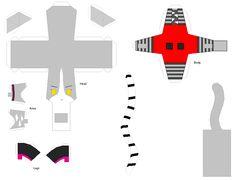 monster high papercraft   Chismosa Inmortal: Paper crafts Monster High