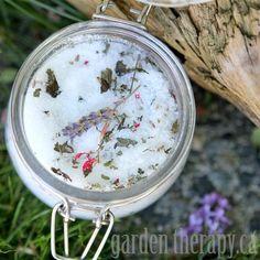 DIY Gardener's Herbal Foot Soak Recipe