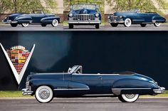 The 1947 Cadillac Series 62 Convertible Coupe