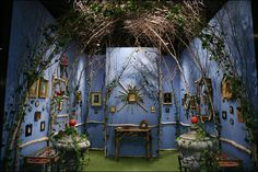 Booth at the Winter Antiques Show in NY