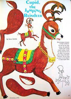 Cupid the Jumping Reindeer | by judibird