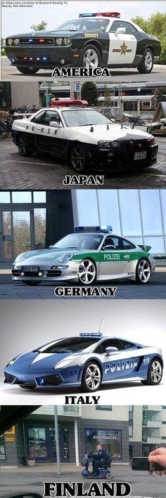 Luxury Lifestyle : haha. World Police cars. Click for more.   https://flashmode.be/luxury-lifestyle-haha-world-police-cars-click-for-more/  #Lifestyle