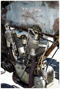 The ever rare Excelsior V-twin.