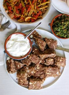 Homemade kibbeh is easy to make and a Lebanese favorite to put on the dinner table. I love to pair this with yogurt and pita bread!