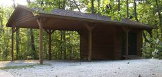 Car Carport pattern 006G 0009 Carport plans are shelters typically designed to protect one or two cars from the Carport with Storage 006G…