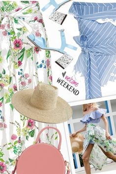 Floral+&+stripes+ from anne-irene  - trendme.net