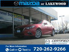 2015 *Mazda*  *Mazda3* *i* *Touring*  7k miles $20,099 7560 miles 720-262-9266 Transmission: Automatic  #Mazda #Mazda3 #used #cars #MazdaofLakewood #Lakewood #CO #tapcars