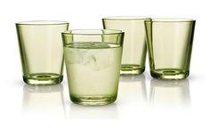 Vasos cristal color lima Eva Solo