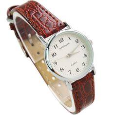 LadyArc Elegant Leather Classy Wristwatch