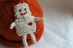 robot knit hat... cute!!