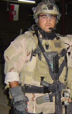 US Navy SEAL, Justin Legg.