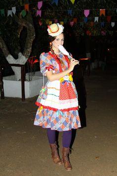 Moda para festa junina - Festa Junina Bolsa de Mulher