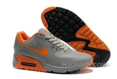 big sale e4a90 571e5 Nike Air Max 90 Hyperfuse Womens Orange Grey Super Deals SckeR