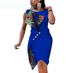 New Fashion African Dresses for Women Sexy Sleeveless Bazin Riche African Print Cotton Dress Lady Elegant Party Dresses Item Type: Africa Clothing Material: Cotton Type: Kanga Clothing Care: Dry Clean Size: African Maxi Dresses, Latest African Fashion Dresses, African Dresses For Women, African Print Fashion, Elegant Party Dresses, Boho Dress, Cotton Dresses, Short Dresses, Website