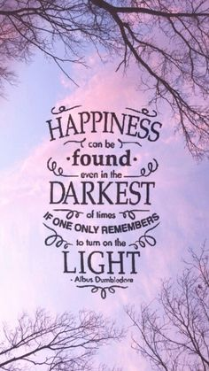 I think this is my favorite Harry Potter quote.