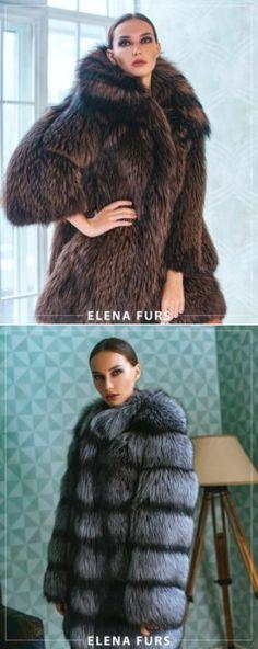 Fur coats Fetish Fashion, Fur Fashion, Fashion Looks, Womens Fashion, Fox Fur Coat, Fur Coats, Stunning Brunette, Fur Gilet, Fur Clothing