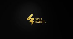 Volt Rabbit - Logo Design on Behance
