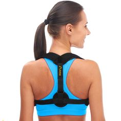 Andego Back Posture Corrector for Women & Men – Effective and Comfortable Posture Brace for Slouching & Hunching - Discreet Design – Clavicle Support For Medical Problems & Injury Rehab Perfect Posture, Good Posture, Better Posture, Best Back Brace, Back Brace For Posture, Posture Corrector For Men, Posture Support, Scoliosis Exercises, Legs