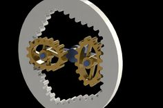 Weird Gears 8 - STEP / IGES,STL,SOLIDWORKS,Parasolid - 3D CAD model - GrabCAD Mechanical Gears, Mechanical Power, Mechanical Design, Mechanical Engineering, Cool Animated Gifs, Cool Animations, Best Computer, Computer Repair, Pulleys And Gears