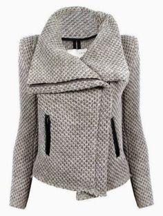ShopBop Honeycomb Moto Jacket. #fall #wardrobe