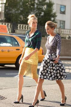 Gorgeous Street Style Looks from Spring 2015 Fashion Week