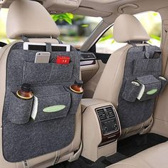 Are you tired of trying to keep your car clean? 🚗 Then you need this Car Back Seat Organizer!     Limited in-store promotion! Save $17.80 [Limited to 4 items per person] People usually buy 2 or 4 organizers. You can select the quantity on the next page, click Buy it now to continue. Price is per pcs.    Online exclusive:  This item is NOT available in stores.  Free Secured & Guaranteed Worldwide Shipping on carts over $25 100% Money-Back Guarantee   FREE & easy returns: if y...