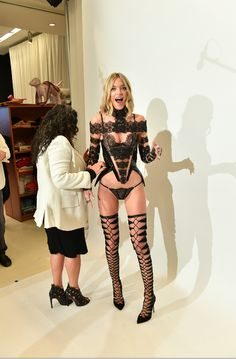 Martha Hunt takes a walk on the dark side in the Victoria's Secret Fashion Show. Watch her on the runway in Paris on Dec. 5, 10/9c on CBS.