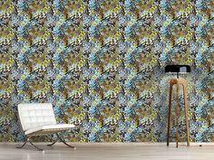 Design #Tapete Wilde Afrolilien