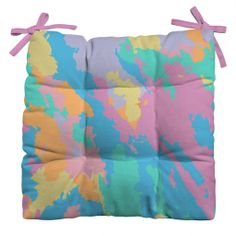 Rosie Brown Art Map Outdoor Seat Cushion   DENY Designs Home Accessories  #cushion #chair #outdoor #patio #homedecor