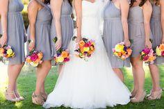 Bridesmaids portraits at Casino San Clemente in San Clemente by TréCreative Film&Photo trecreative.com/