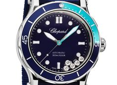 Ever since it was launched, the Happy Sport collection has been an undeniable success. Over the years, it has been enriched with original creations, occasionally offbeat but consistently delightful. This year, Chopard is once again reinvigorating this iconic collection with the new Happy Ocean. Both sporty and elegant, Happy Ocean is the ideal watch for exploring the ocean floor, relaxing on a yacht or strolling on the sand. As technical as it is