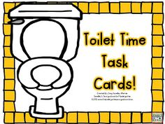 Free bathroom procedure cards!  Place in your class bathroom to remind students of what is expected and what to do!