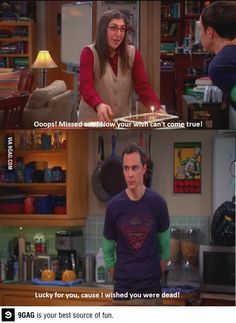 I died laughing at this episode. Emmy reel material for both of them. #BBT