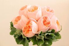 Love! Bridesmaid bouquet with blush garden roses. One of my favorite blooms. Thank you Bonnie @ Ruby Reds Floral & Gardens.
