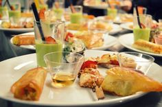 Amuses salées - Hôtel de la Pointe de Mousterlin #gastronomie #coursdecuisine #fouesnant