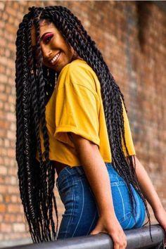 Box Braids Hairstyles, Senegalese Twist Hairstyles, African Hairstyles, Girl Hairstyles, Marley Twist Hairstyles, Hairstyles 2018, Protective Hairstyles, Hairdos, Blonde Box Braids