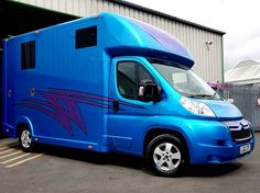 #KPHLTD freshly washed Aeos #horsebox for an eggciting hand over tomorrow!